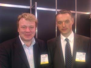 Talking HS2 at Infrarail