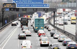 Road congestion is costing the West Midlands £2.3bn per year