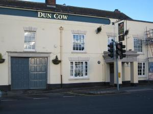 The Dun Cow - the scene for the Stephensons late night...