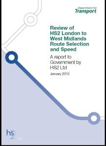 HS2 route selection