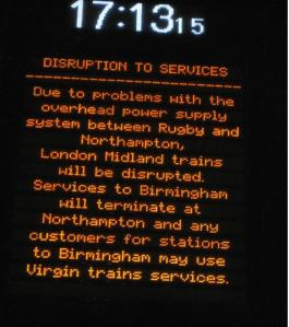 Yesterday's disruption on the WCML: How can we add yet more services as HS2 opponents suggest?