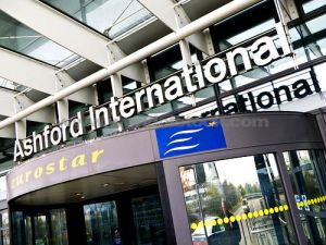 Ashford International - journey times to London cut from 84 to 35 minutes